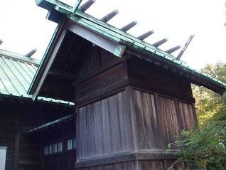 千年神社の本殿