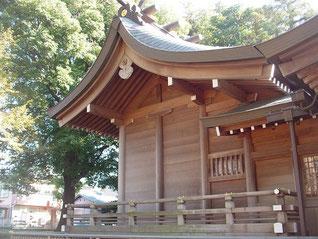 野川神明社の本殿