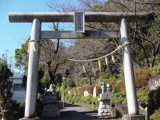 高石神社の一の鳥居