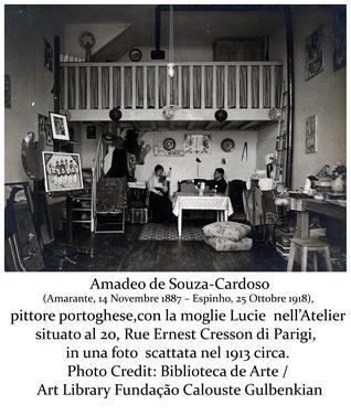 T. Follesa_Gli artisti al tempo della pandemia l'Influenza Spagnola parte seconda_Amedeo de Souza Cardoso