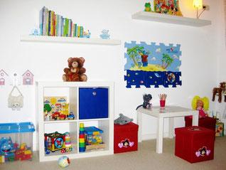 Schönes Kinder- und Spielzimmer.