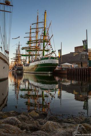 """Das Segel-Schulschiff """" Alexander von Humboldt 2"""""""