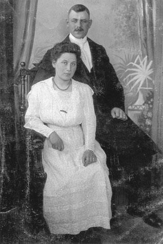 Verlobungsfoto von Siegmund Freundlich und seiner späteren Frau Else.