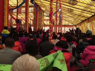 Rencontre au Monastère de Qinghai