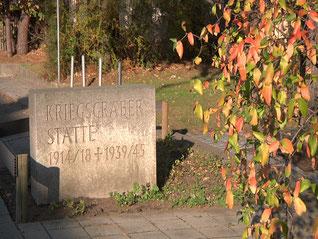 Kriesgräberstätte im Föhrenweg in Neumarkt