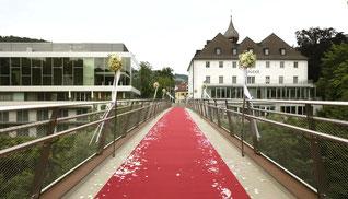 Romantikhochzeit im Schloss an der Eisenstrasse