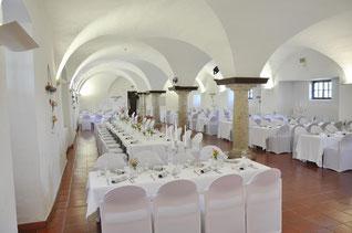 Gewölbesaal - Schloss Kremsegg