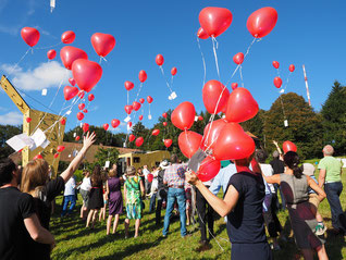 Heliumballons für den Ballonflug!