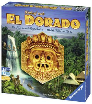 Brettspiel Rezension zu Wettlauf nach El Dorado