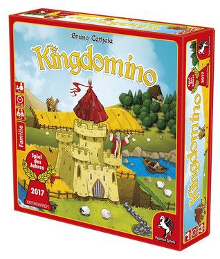 Brettspiel Rezension zu King Domino von Pegasus
