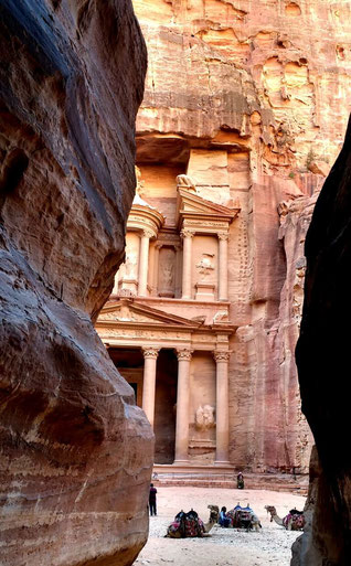 The famous Royal Treasury at Petra, Jordan. Dante Harker