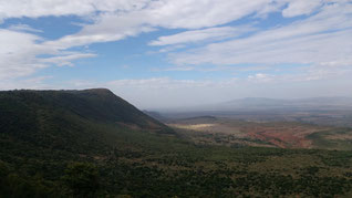 The drive to the Maasai Reserve takes in some stunning views. Dante Harker