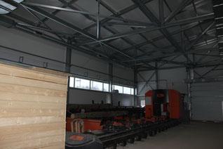 быстровозводимое промышленное здание