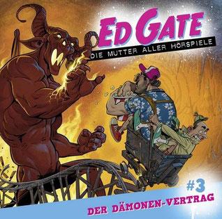 CD-Cover Ed Gate der Dämonenvertrag