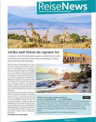 Reisenews wird produziert vom Tourismus Lifestyle Verlag