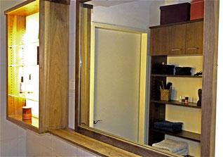 Badezimmerschrank mit Spiegel