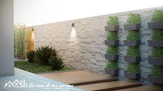 Propuesta del huerto bordeado de madera (click para agrandar)