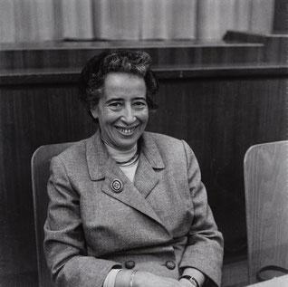 Dr. Hannah Arendt 1958, copyrigth: Wikipedia, Barbara Niggl Radloff, FM-2019-1-5-9-16