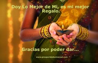 DAR - ES EL MEJOR REGALO - LEY DE DAR - AGRADEZCAMOS LA OPORTUNIDAD DE PODER DAR - PROSPERIDAD UNIVERSAL - www.prosperidaduniversal.org