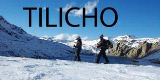 Tilicho - Le camp 1 vue en montant au C2