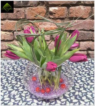 Bouquet de tulipes  ©Plastiflor