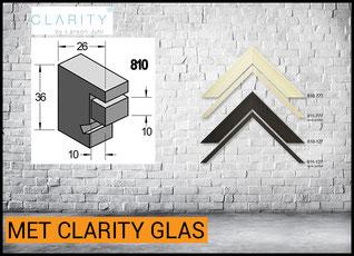 Barth Lijst Hout 810 met Clarity