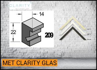 Barth Lijst Hout 209 met Clarity