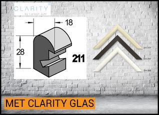 Barth Lijst Hout 211 met Clarity