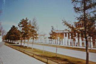 ナツァグドルジ劇場(1986年5月、ウランバートル)
