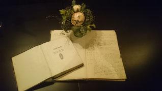 Kassenbuch und Protokollbuch von 1913