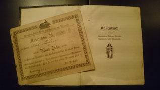 Die Mitglieder konnten zu damaligen Zeiten Anteile des Vereins in Höhe von 10 RM erwerben. Diese wurden für die Beschaffung von Ausstellungskäfigen genutzt