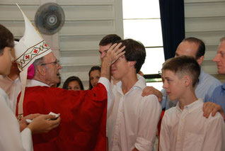 Confirmation par l'évêque