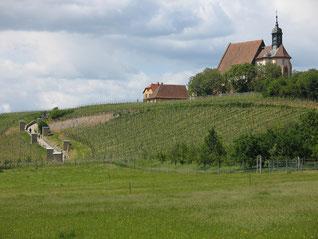 """Wallfahrtskirche """"Maria im Weingarten"""" bei Vollkach"""