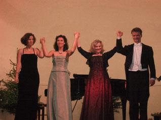 Konzert & Menü: Krefelder Stadtwaldhaus, im November 2009 mit Sopranistin Debra Hays
