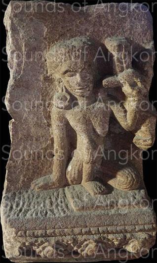 Kāraikkāl Ammaiyār. National Museum of Cambodia. Ref. 1763.