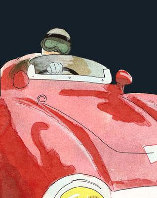 Eugenio Castellotti by Muneta & Cerracín