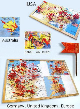 abstrakte Malerei in Dubai, USA, Australien und weltweit