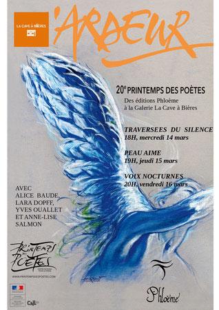 Printemps des Poètes des éditions Phloème, La Cavec à Bières