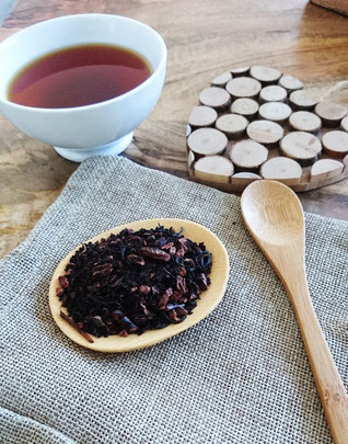 ©Asthéya, thé noir Un week-end au bord du lac