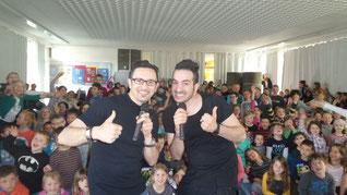 Enrico und Lino Filieri besuchen die PC-Schule