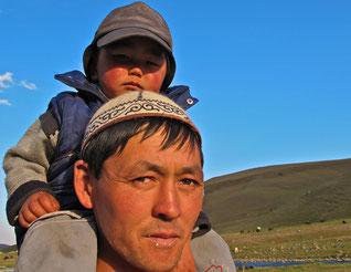 Ruko und sein Vater Mirko