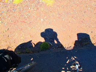 der Schatten - mein ständiger Begleiter