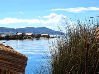 die schwimmenden Inseln der Uros