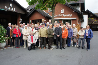 Unsere Reisegruppe zum Heimatdorf Hövelhof