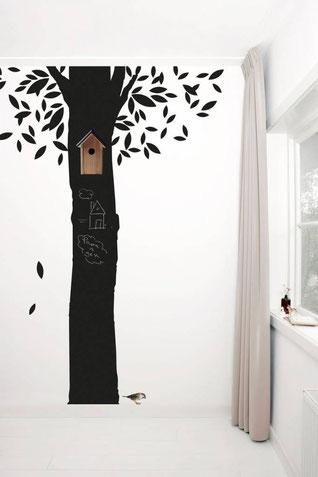 Tafelfolien-Wallsticker Baum