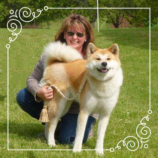 Japan Akita, Hund, Japan Akita e.V., Hundeausstellung, Vereinsausstellung