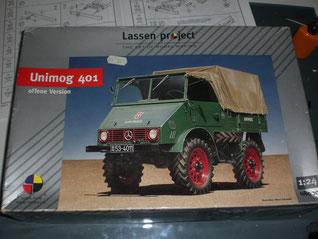 Unimog 401 v. Lassen Project