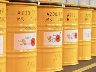 Bundesregierung plant Fonds für Entsorgung deutscher AKWs. Foto: U. Anspach/Archiv