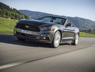 Das lange Warten hat ein Ende: Der Ford Mustang wird nach 50 Jahren zum ersten Mal offiziell in Deutschland angeboten. Foto: Ford