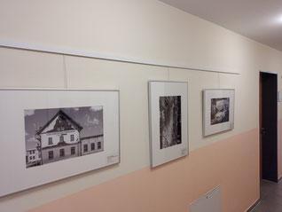 Eröffnung der Ausstellung der Fotogruppe Sichtweisen im Rathaus: Spurensuche - 30 Jahre Wiedervereinigung